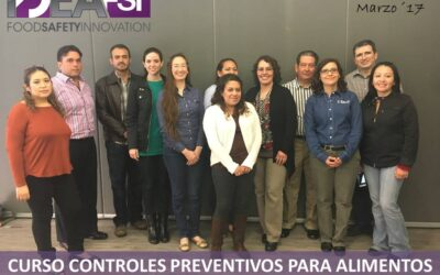 Curso Controles Preventivos FSPCA. Marzo 2017. Monterrey, N.L.